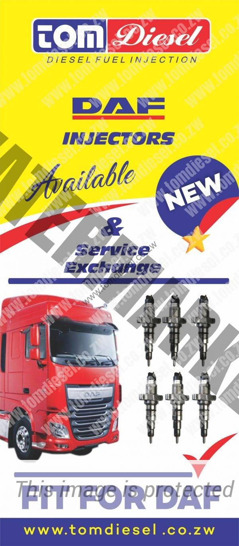 Daf Diesel Injector Repairs & Sales