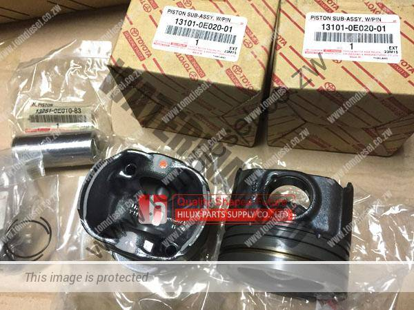 Genuine Toyota 1GD Piston For Hilux Revo Prado