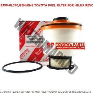 GENUINE TOYOTA FUEL FILTER FOR HILUX REVO