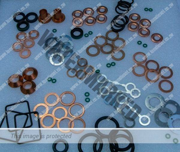 INJECTOR WASHERS AND O RINGS
