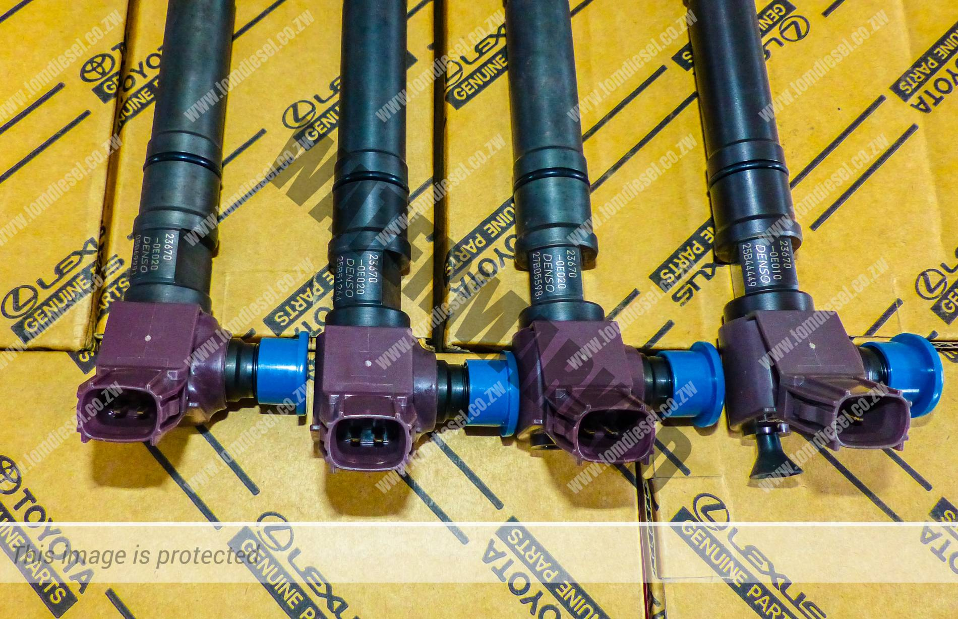 toyota gd6 2.8 injectors for sale and reconditioning